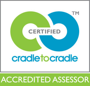 Cradle to Cradle Certified Accredited Assessor logo, MBDC