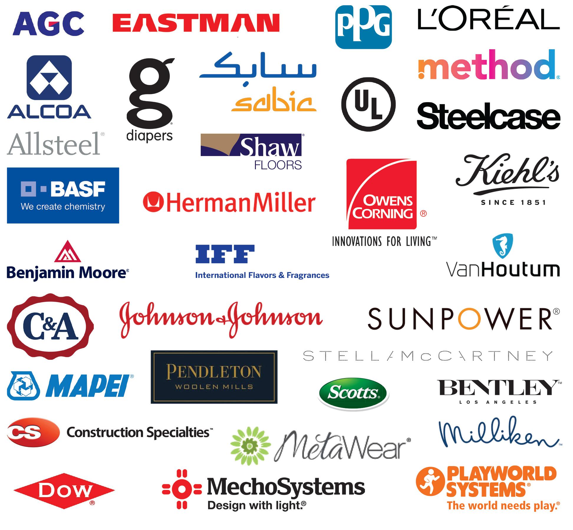 MBDC Client Logos