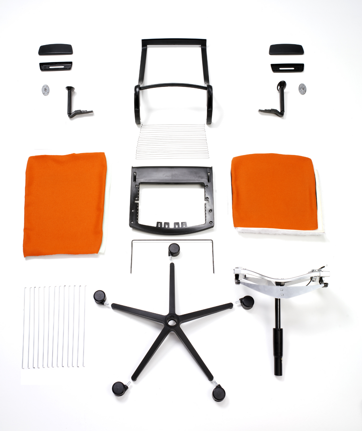 MBDC_Steelcase Think Chair Disassembled