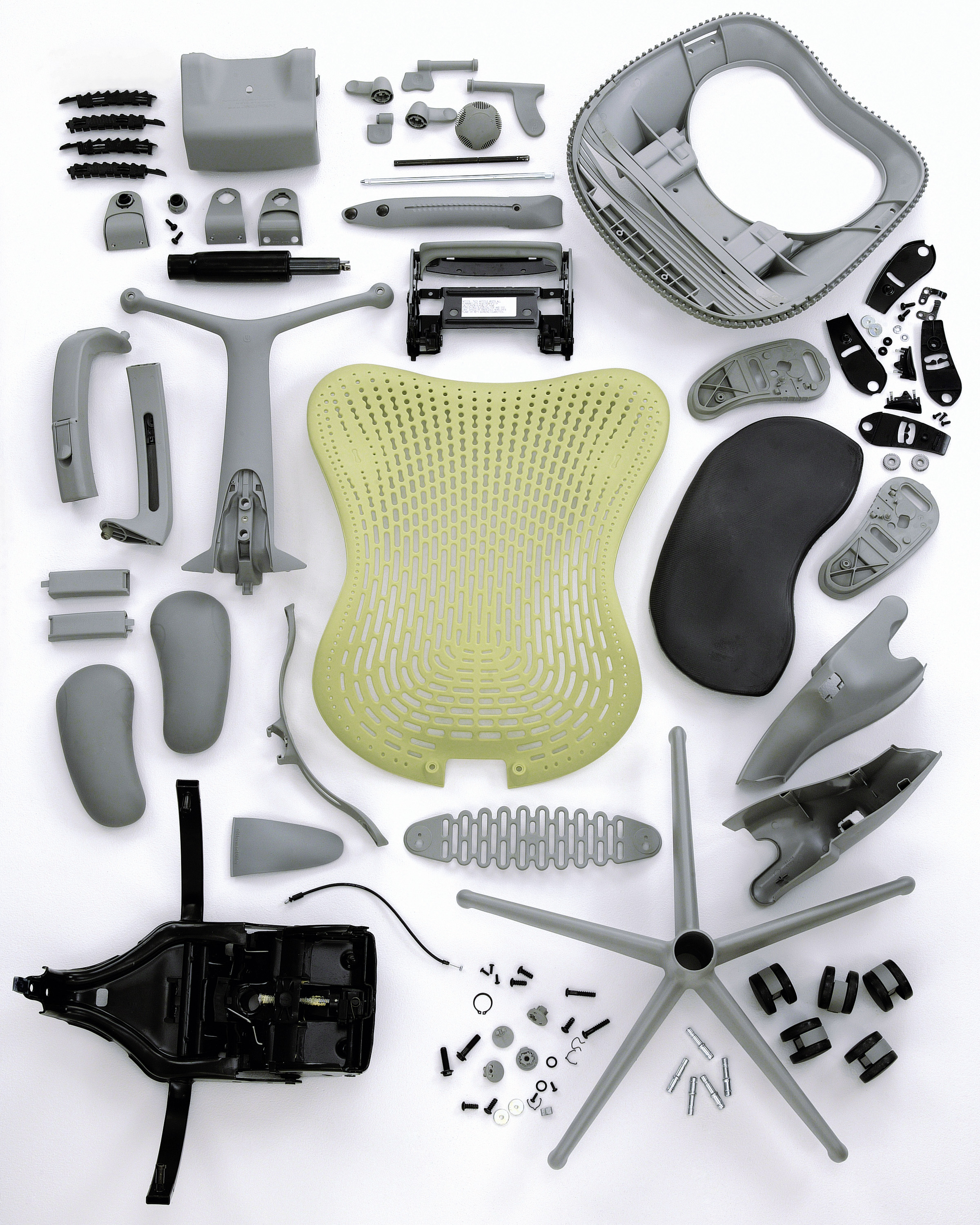 Herman Miller Mirra Chiar Disassembled