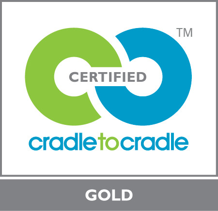 Cradle to Cradle Certified Gold Level logo, MBDC
