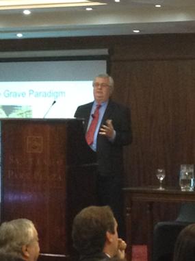 Ken Alston speaking at Workshop, MBDC